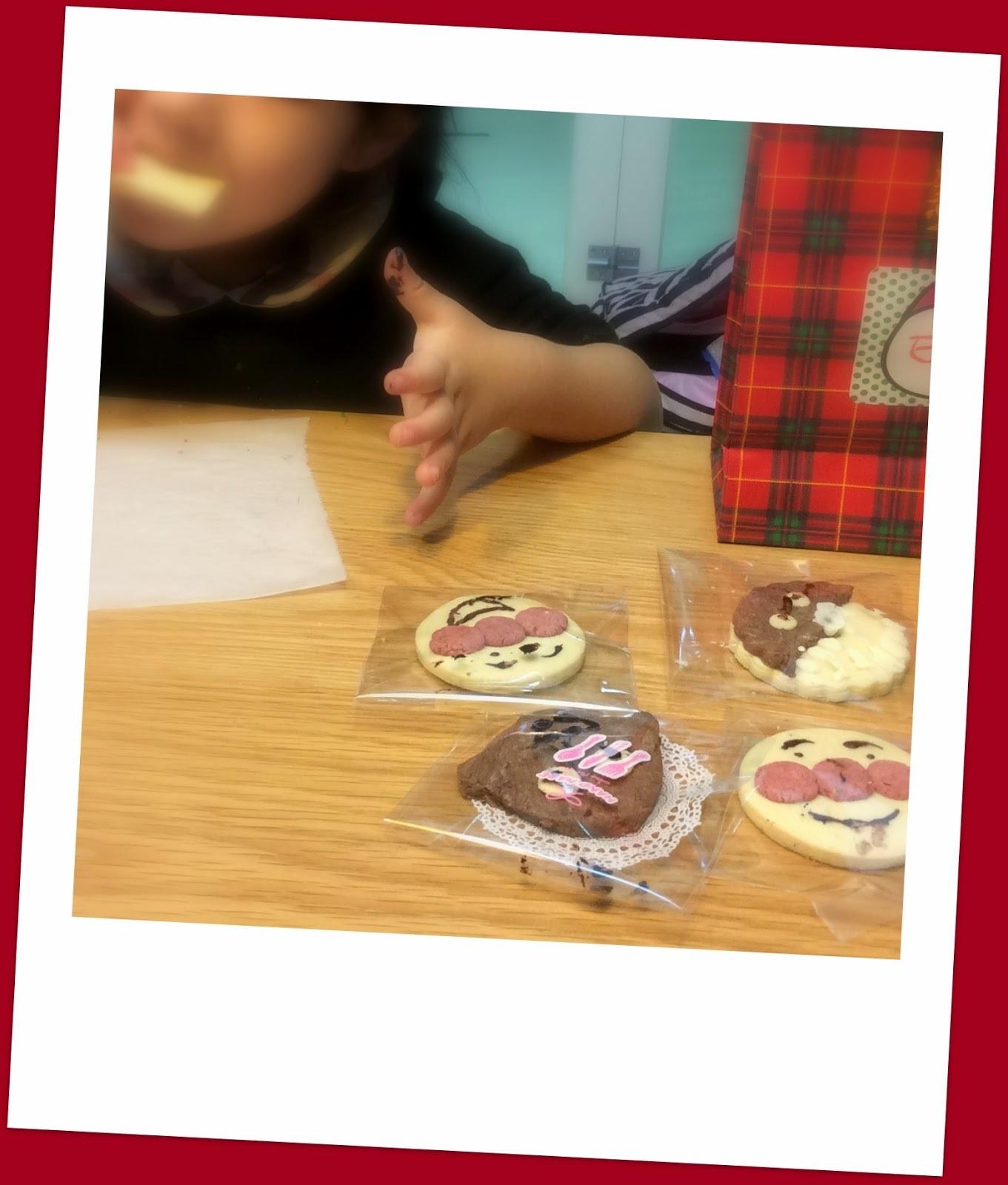 食譜:麵包超人家族餅乾