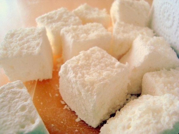 Marshmallows caseros
