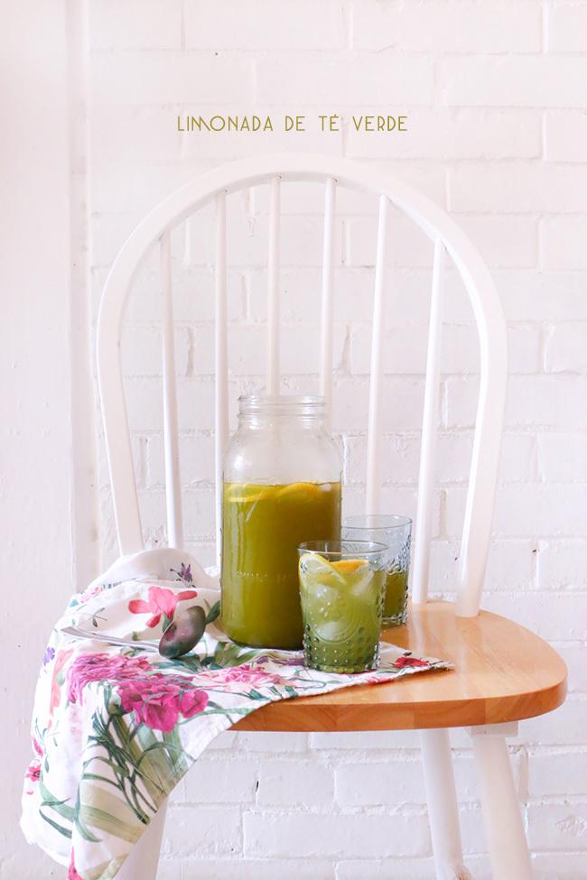 Limonada de Té Verde Matcha