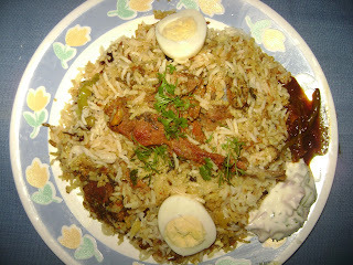 Mutton Biryani (Party Menu)