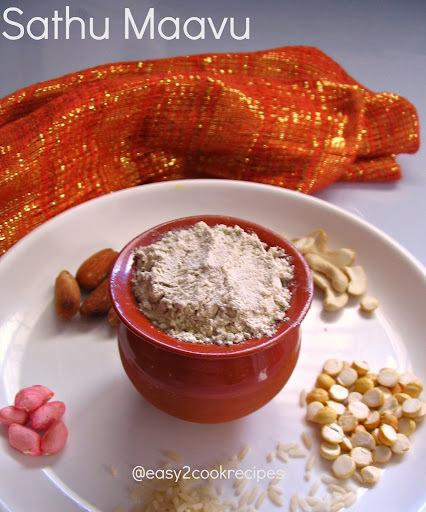 SATHU MAAVU KANJI / HOMEMADE MULTIGRAIN POWDER PORRIDGE