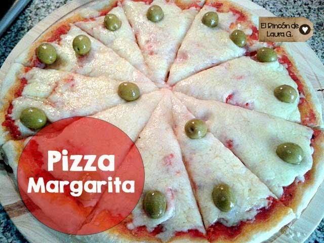 Receta de Pizza Margarita y Pizza Cuatro Quesos