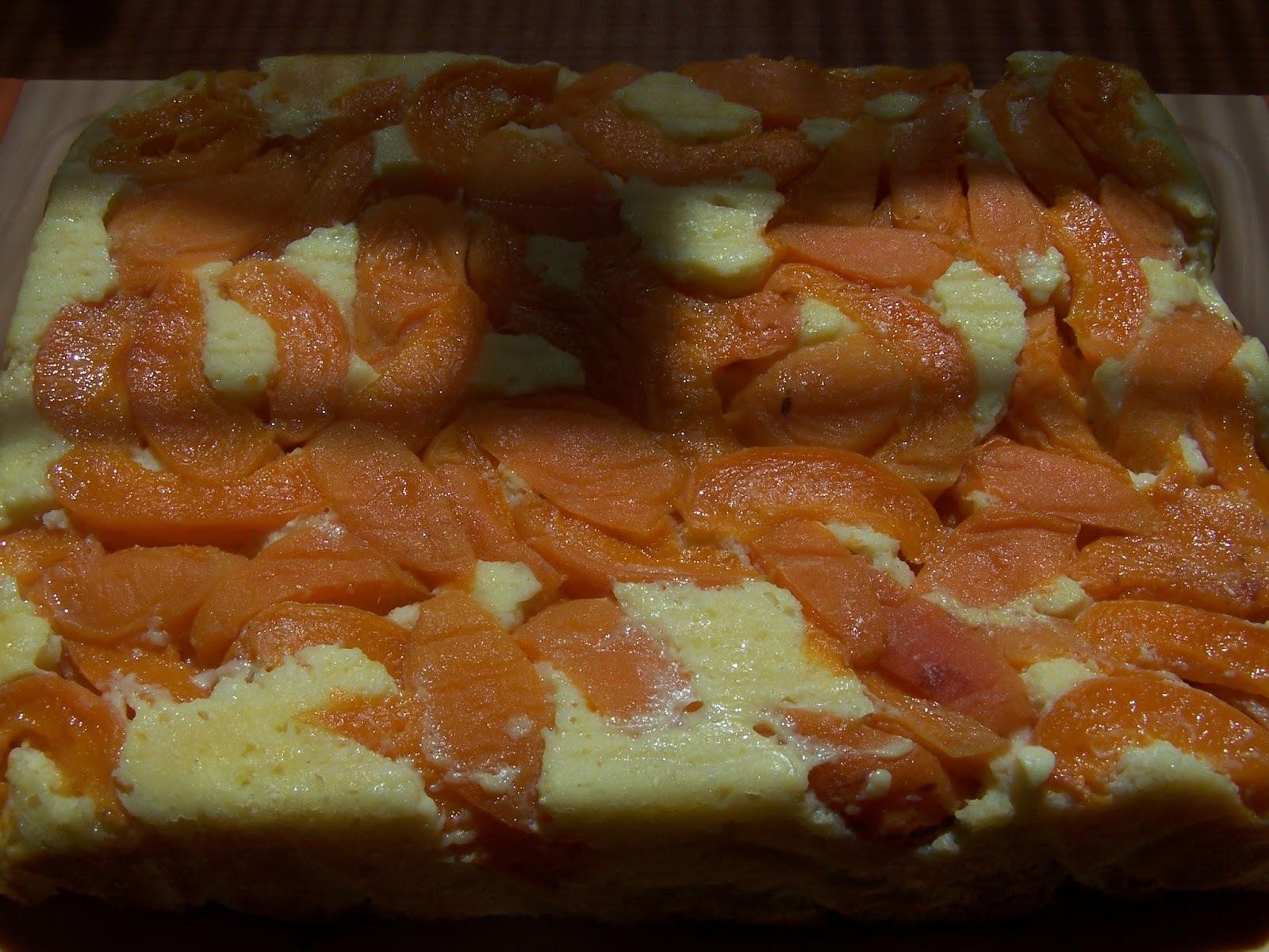 Fordított barackos kevert süti (gluténmentes, szénhidrátszegény, cukormentes)