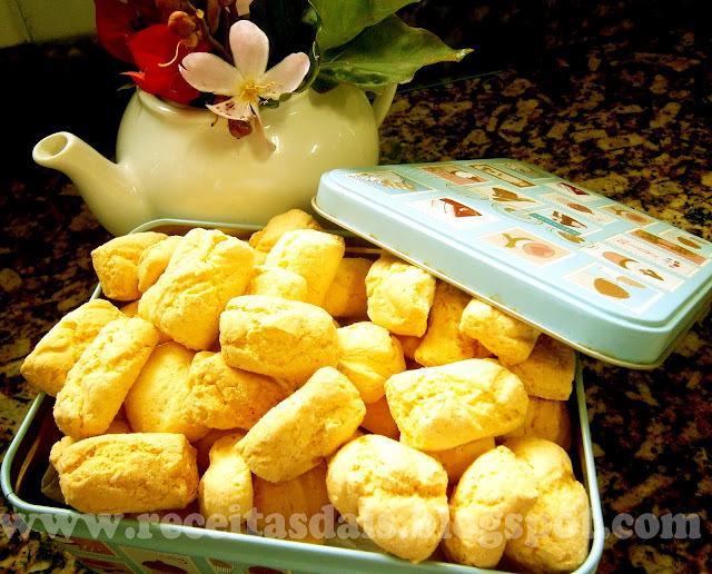 biscoito de polvilho doce sem ovos