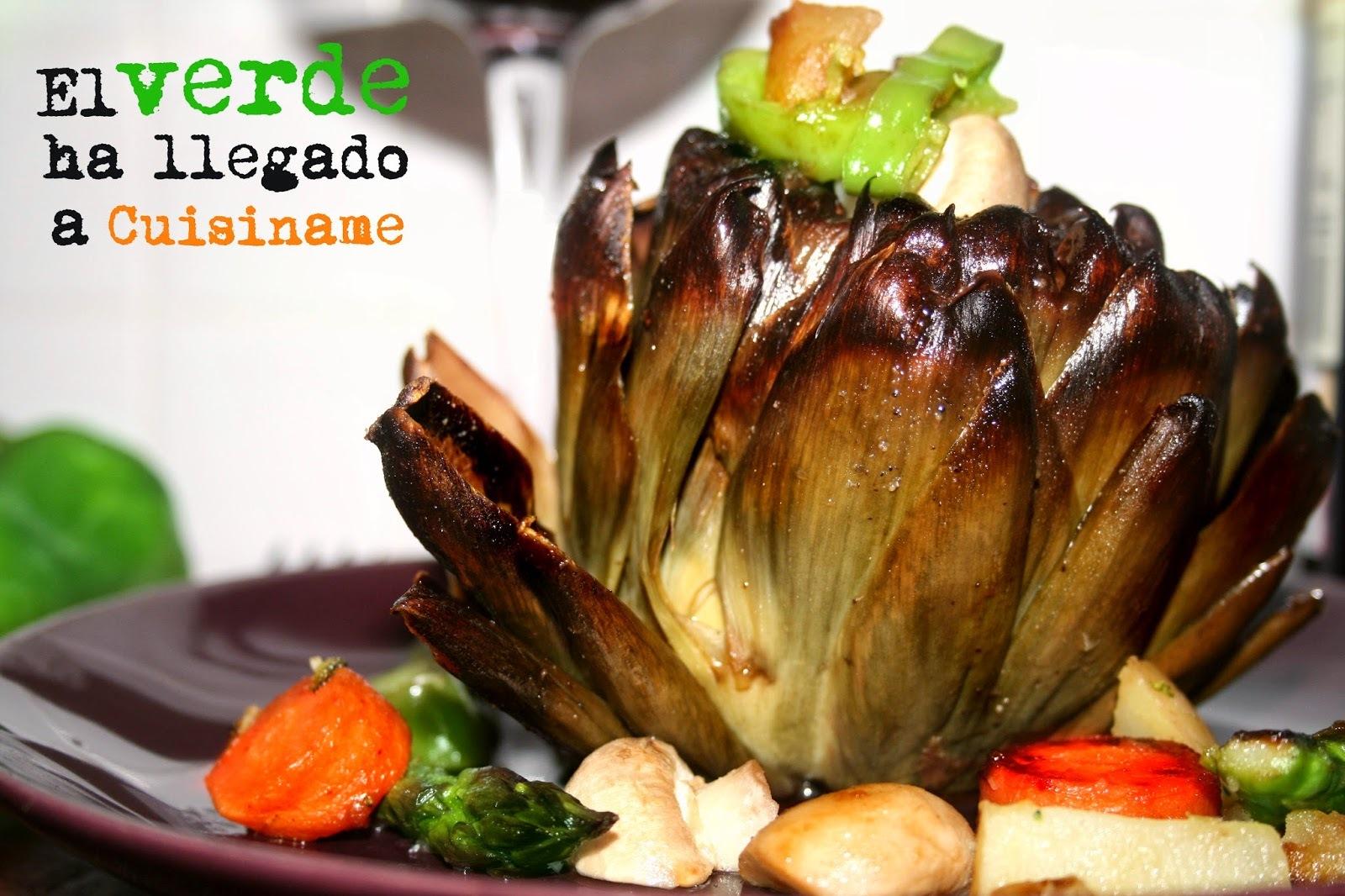 Alcachofas con Verduras | Recetas Sanas