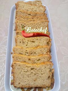Pão de Aipim, Iogurte, Aveia e Linhaça