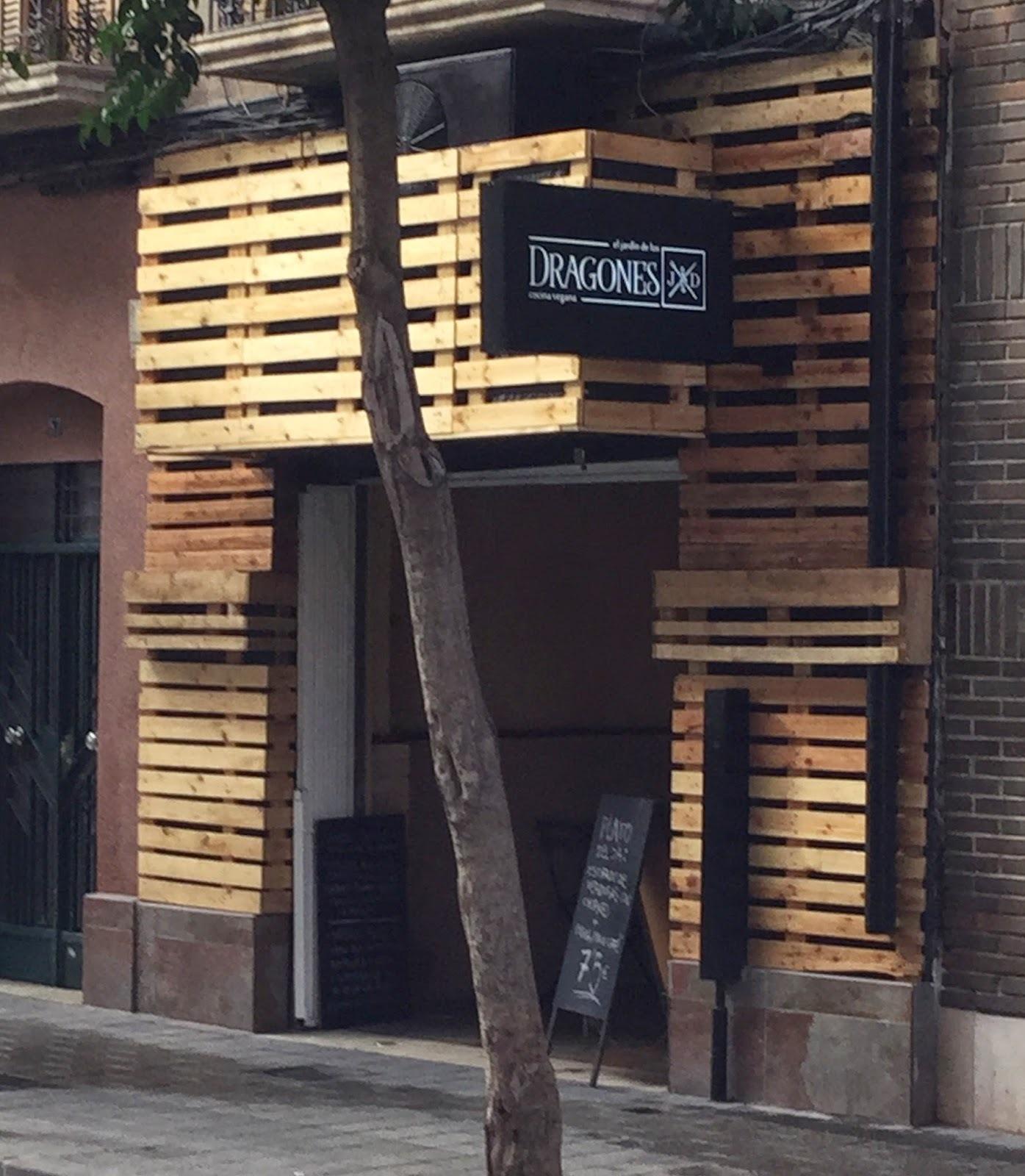 El jardín de los dragones, restaurante vegano en Murcia
