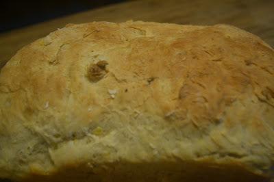 Pão com batata baroa (salsa ou mandioquinha)