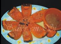 Doce de abóbora Inteira (versão diet)