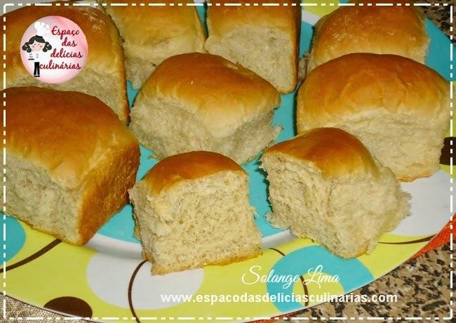 Pão de sal fofinho