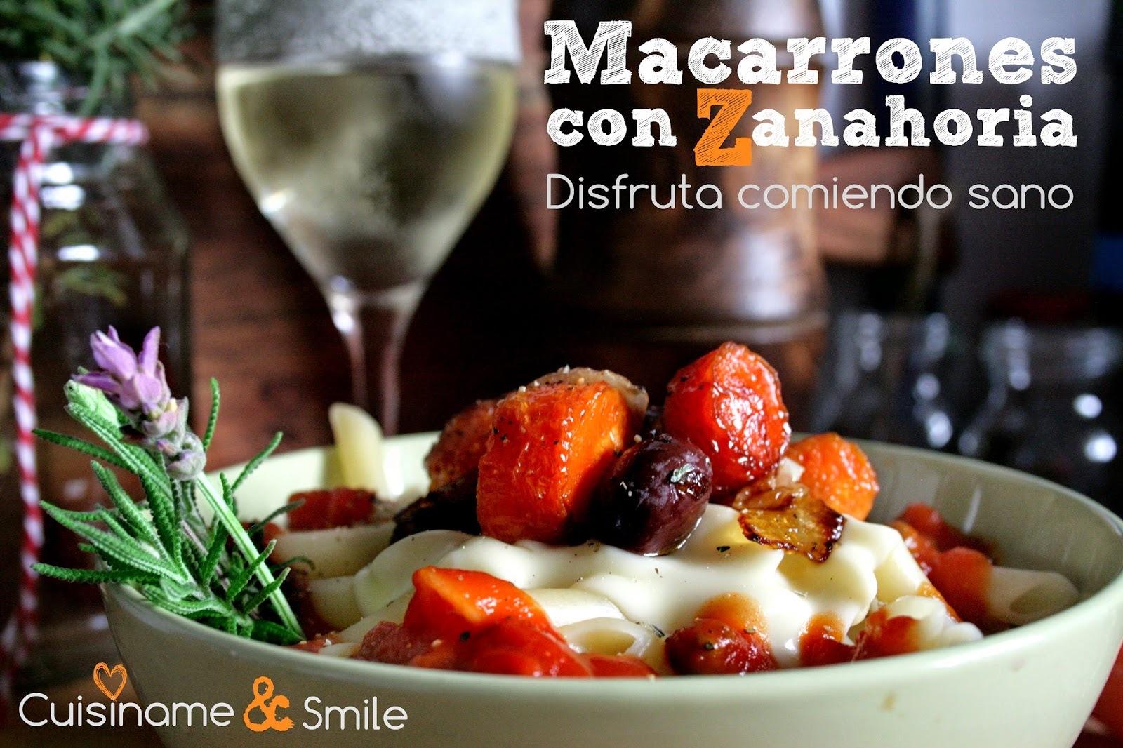 Macarrones con Queso | Macarrones al Horno con Zanahorias