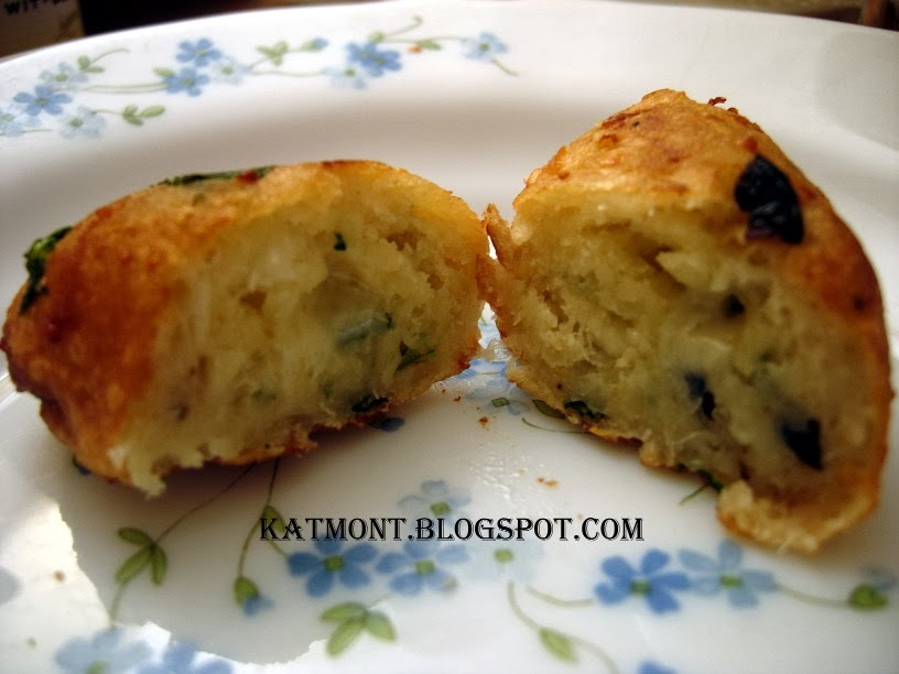 Bolinho de macaxeira com queijo - Beignets de manioc au fromage