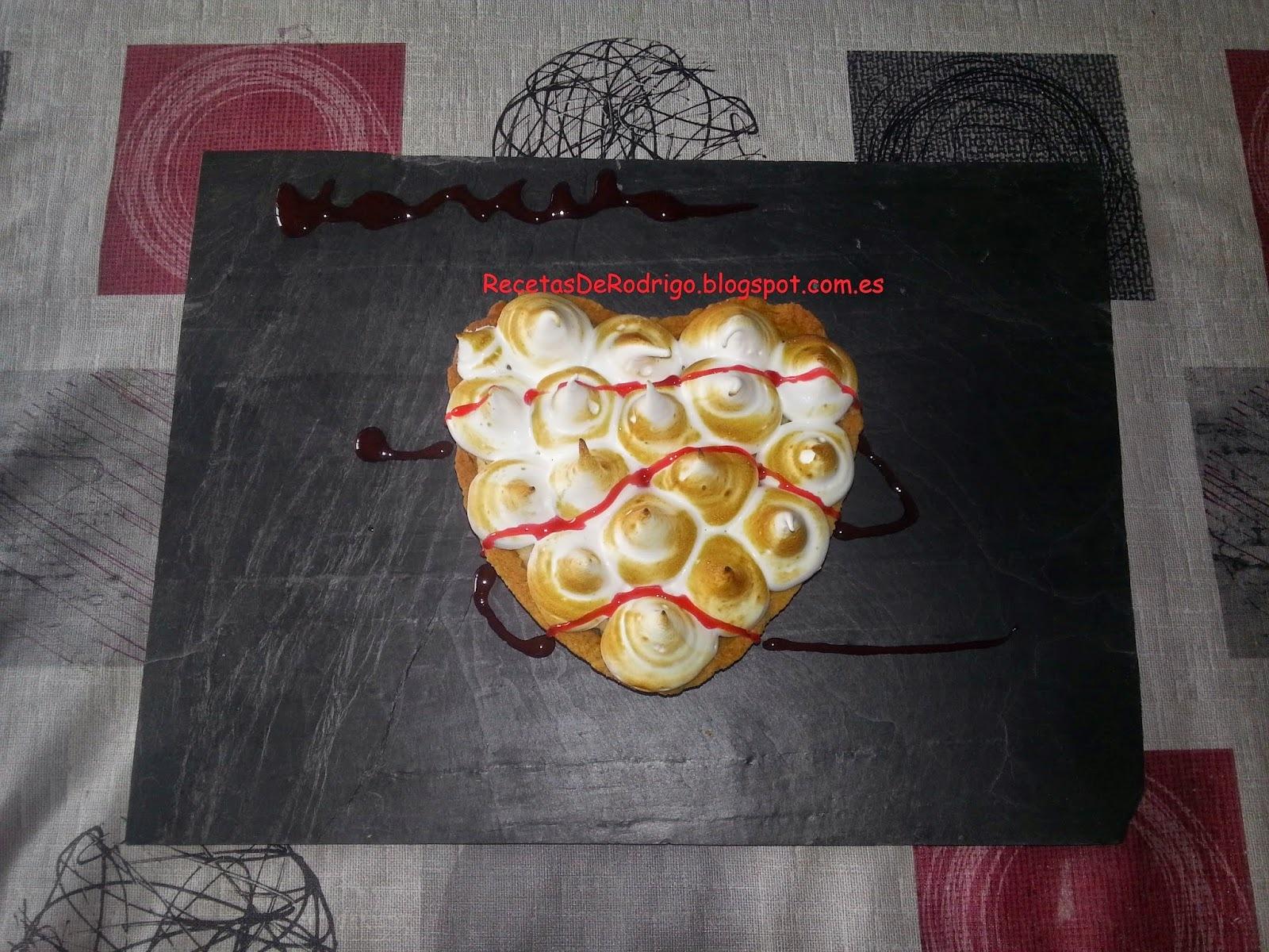 Repostería - Tartas y Pasteles - Lemon Pie (Tarta de Limón y Merengue)(Especial San Valentín)