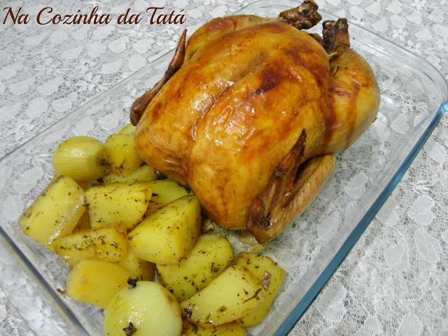 molho simples para frango depois de assado