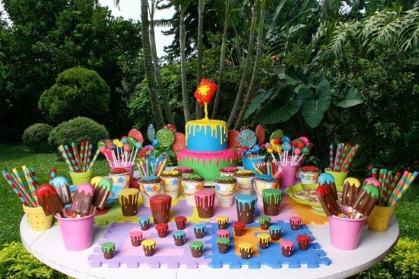 28 Ideias para Festa Pintando o Sete