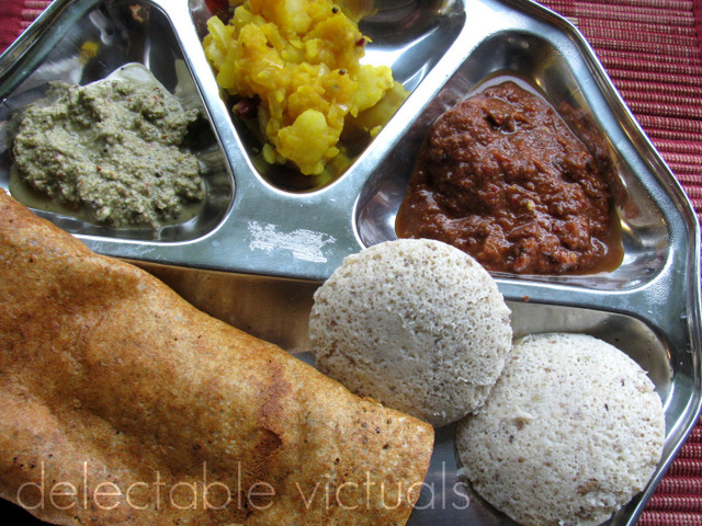 Soy Beans Dosai and Idlee