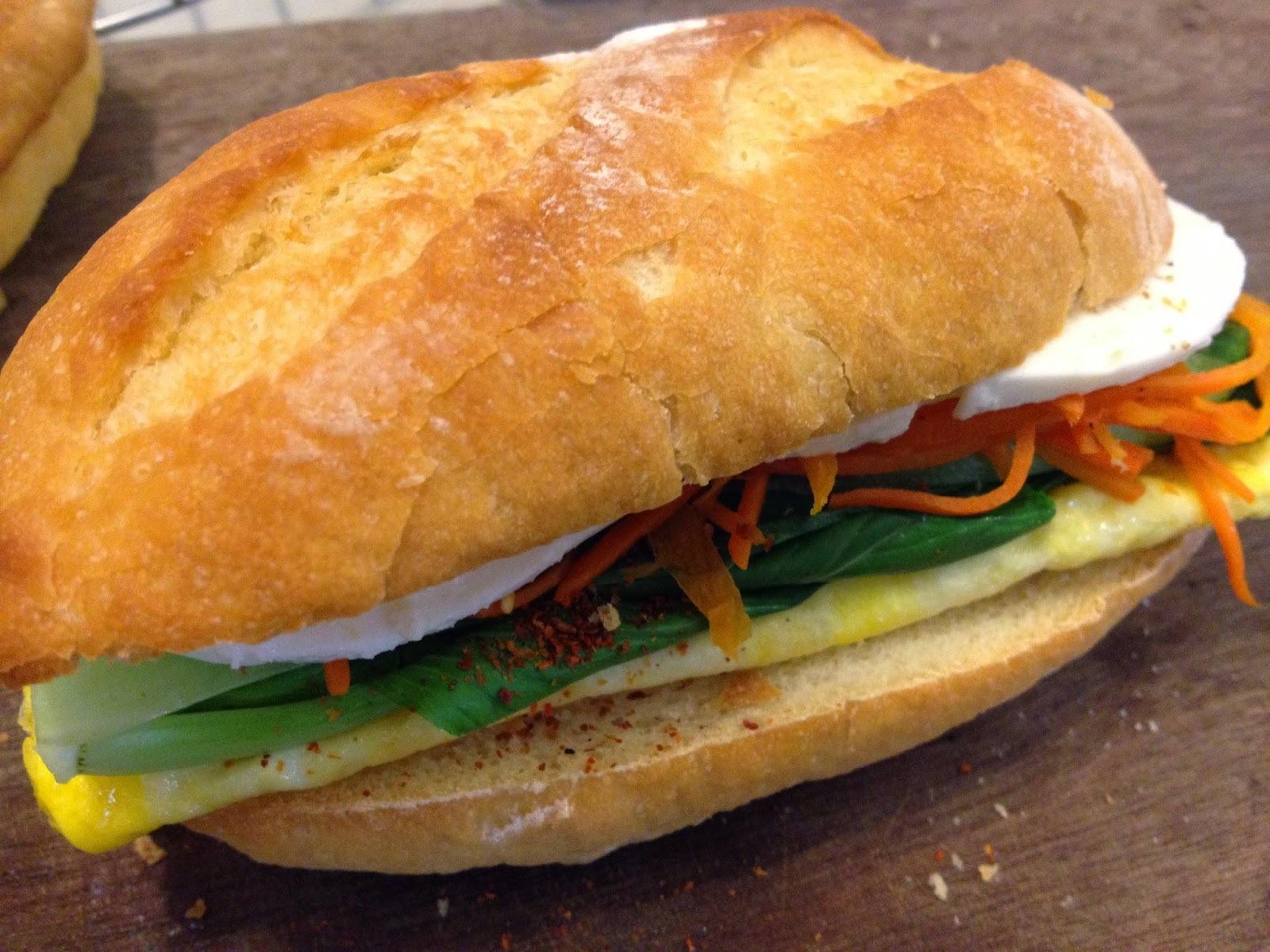 9月9日 愛妻便當 -- 清爽版越式三明治