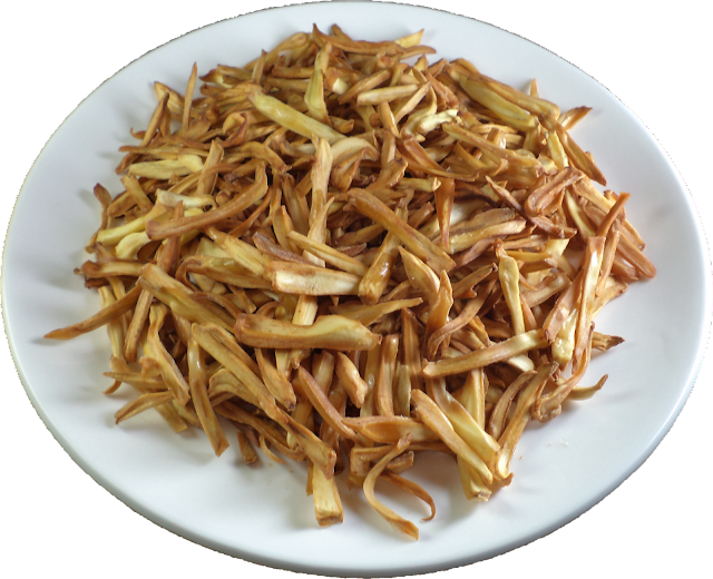 255) CRISPY JACKFRUIT CHIPS