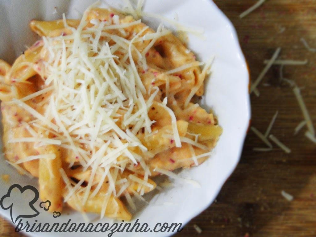 Mac'n'cheese (de uma panela só) com queijo reino - ultra fácil!