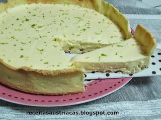 TORTA CREMOSA DE LIMÃO – Zitronen-Tarte