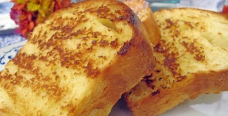 de pão caseiro assado no microondas