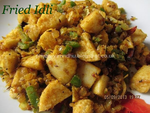 Idli Fry - South Indian Delight