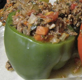 RECIPE of the WEEK: JAE LOW'S STUFFED PEPPERS