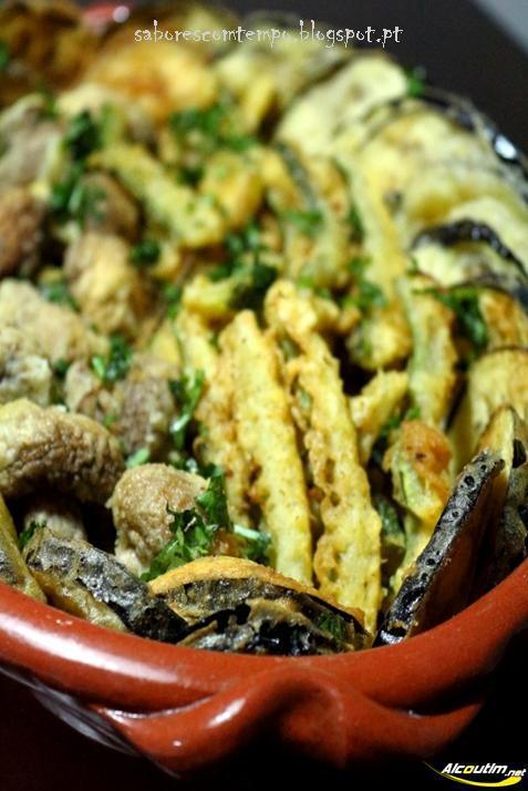 Uma espécie de tempura... 3.º Concurso Aromas e Sabores com figo da Índia