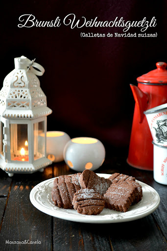 Brunsli: galletas típicas suizas de Navidad
