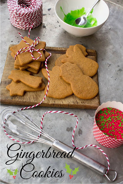 Χριστουγεννιάτικα μπισκότα gingerbread