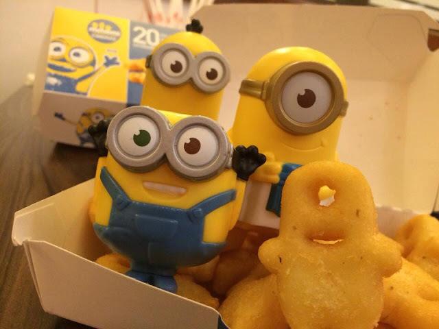 McDonald's lança batata especial em formato de Minions