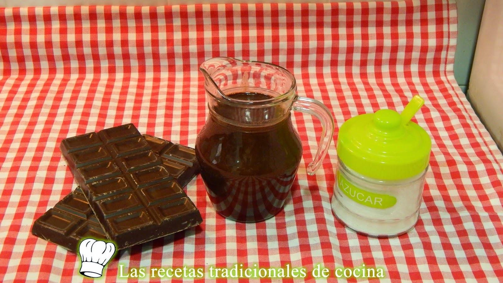 Receta de cobertura de chocolate brillante para tartas y pasteles