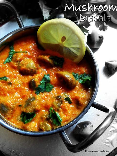 mushroom gravy by sanjeev kapoor