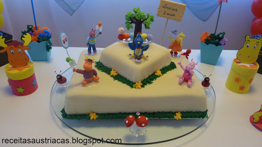 BOLO DE ANIVERSÁRIO BACKYARDIGANS