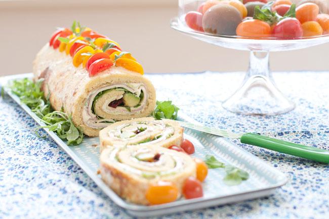 Pionono salado, una receta veraniega / Savory pionono, a summer recipe