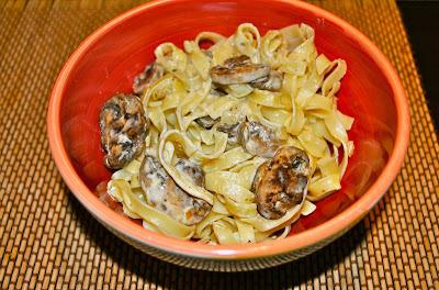 Pasta con hongos portobellini (30 minutos)