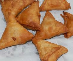 Crispy Spicy Onion Samosa - Samosas stuffed with Onions - Evening Tea time Snack Recipes
