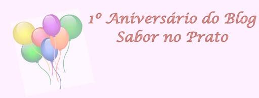 Bolo Gelado Embrulhado para Comemorar o Aniversário do Blog