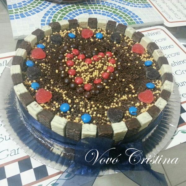 torta de frango para aniversario decorada