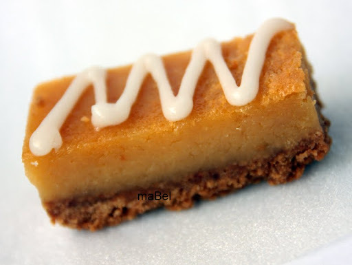 Barras de limon de Gordon Ramsay Lemon treacle slice