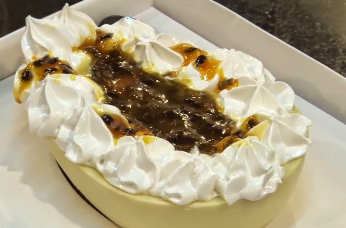 Ovo de Páscoa de Colher - Sabor Maracujá & Marshmallow
