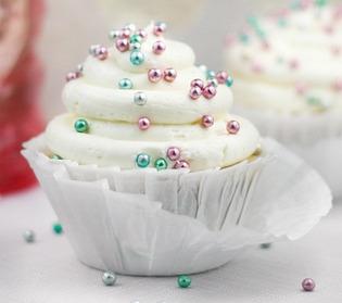 Cupcake de espumante para Reveillon