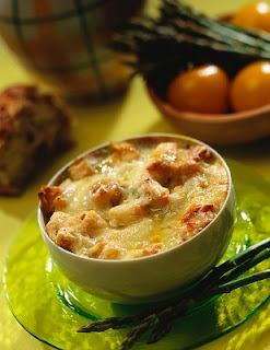 Pastel de pollo al microondas rapido y sin masa