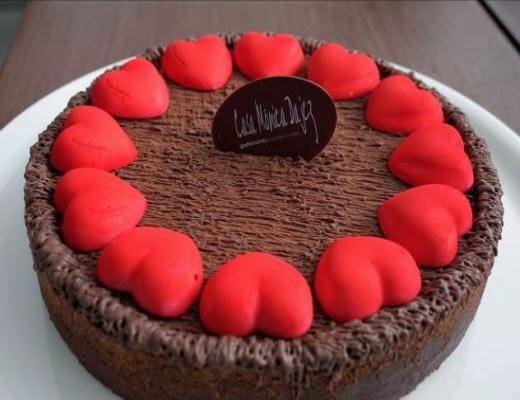 Torta Kopenhagen Dia dos Namorados