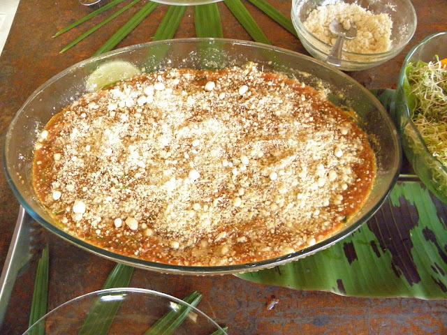 Quinoa germinada na MacarrãoNADA ao molho sugo