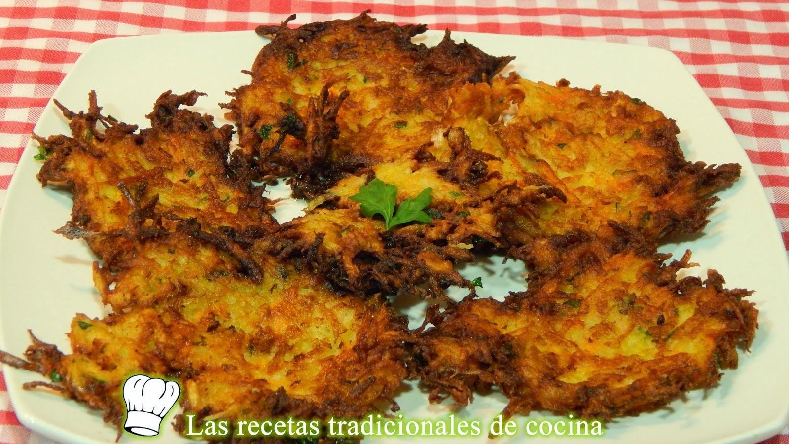 Receta de tortillitas de patata o papas