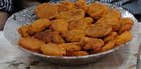 abóbora frita