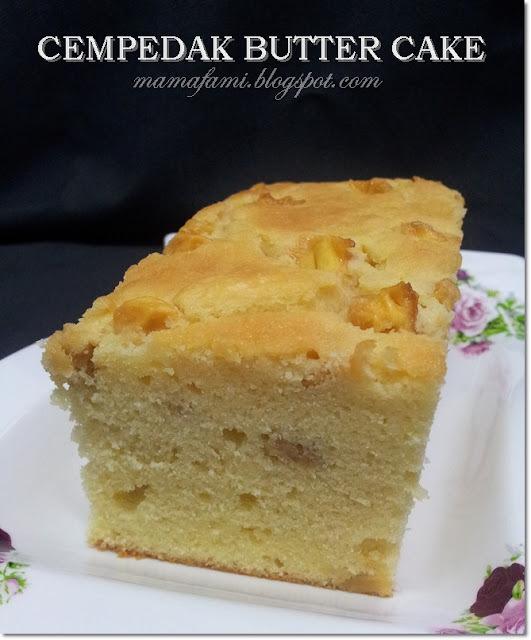 Cempedak Butter Cake