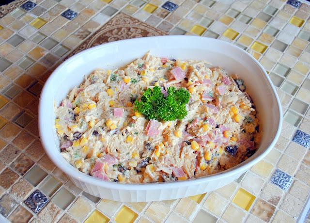 Salpicão: A Brazilian Chicken Salad