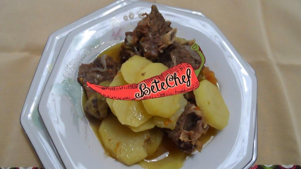 Costela de Boi com Batatas By Betechef